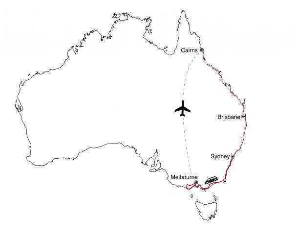 Karte Australien1