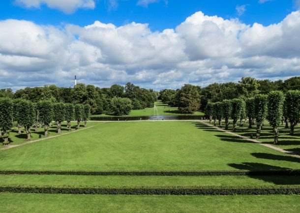 Schlosspark von Frederiksberg